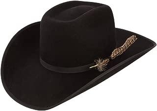 Boys Holt Jr B Felt Cowboy Hat O/S Fits 7 & Smaller Black