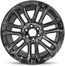 Partsynergy Replacement For 18 Rim Fits 2008-2013 Cadillac CTS Chrome 18x8.5 Aluminum Wheel