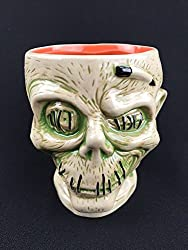 Disney Trader Sams Zombie Shrunken Head White Mug on Amazon.
