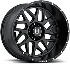 HOSTILE Sprocket Satin Black Wheel (20x12