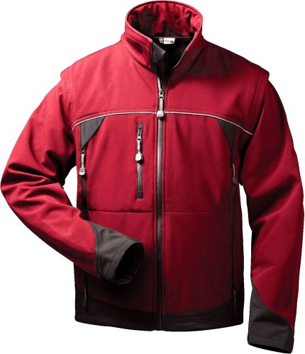 Elysee® Softshell Jacke mit abnehmbaren Ärmeln Omega (XL)