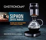 Gastronoma 16100122-Siphon-Kaffeemaschine-Vakuum-Kaffeebereiter-360°...