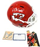 Patrick Mahomes Kansas City Chiefs Signed Autograph Full Size Speed Replica Helmet