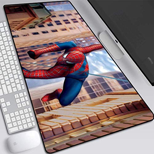 CFTGB Gaming Mouse Pad Grote Muismat The Avengers Spiderman Anime Game Keyboard Mat uitgebreide muismat voor computer desktop PC