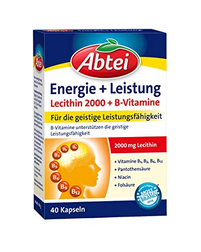Abtei Lecitin 2000 Plus B-Vitamine, 1er Pack