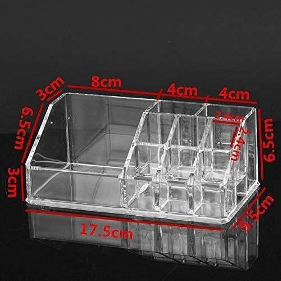 休暇アフリカ人天皇HTTSSH 化粧品のプラスチック製のラック収納ボックスのための化粧品ストレージボックスの化粧品収納ボックスのストレージボックス、クリア HTTSSH