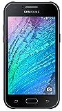 Samsung Galaxy J1 Smartphone (4,3 Zoll (10,9 cm) Touch-Bildschirm, 4 GB Speicher, Android 4.4) schwarz