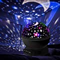 Elecstars LED Night Lighting Lamp Light up Your Bedroom with This Moon, Star,Sky Romantic - Best Gift for Men Women Teens Kids Children Sleeping Aid.