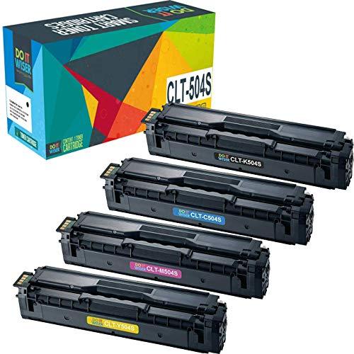 Do it Wiser Kompatibel Toner Cartridge Replacement für CLT-P504C CLT-K504S CLT-504 CLT C504S M504S Y504S für Samsung Xpress C1860FW C1810W Toner Samsung C1860 Samsung CLX-4195FW CLX-4195FN CLX 4195