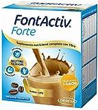 FontActiv Forte sabor Café (14 sobres x 30grs) Suplemento Nutricional para adultos y mayores - 1 o 2 sobres al día.