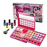 Goforwealth Set de maquillaje para niñas para niños, maquillaje de niña, juguete de maquillaje, juego de juguetes para niñas, seguro y no tóxico, regalo ideal para las niñas de cumpleaños o de Navidad