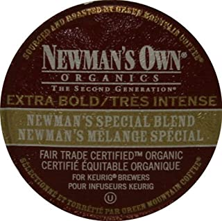 Newman's Own Organic Special Blend Extra Bold, K-Cup Portion Pack for Keurig K-Cup Brewers 72-Count
