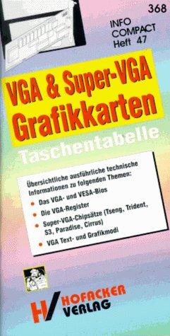 VGA und Super- VGA Grafikkarten Taschentabelle