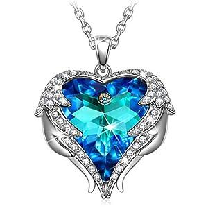 Kate Lynn Muttertagsgeschenk Kette Damen Halsketten für Frauen Schmuck Damen Geschenke für Frauen Frauengeschenk Silber Kette Geschenkset Frauen Personalisierte Geschenk für Sie Anhänger Geschenkbox