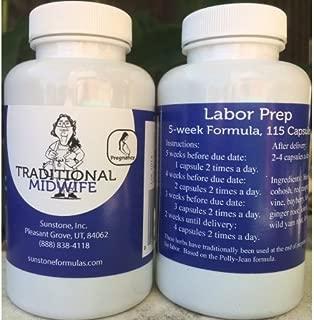 Labor Prep 5-Week Formula, 115 Veggie Capsules
