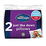 Silentnight Just Like Down Pillow Pack of 2 Deluxe with Dupont