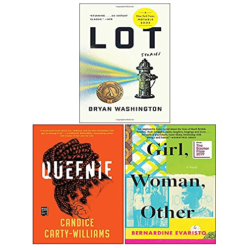 Girl Woman Other, Lot, Queenie 3 Books Collection Set