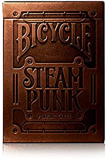 theory11 Bronze Steampunk Playing Cards Embossed Box