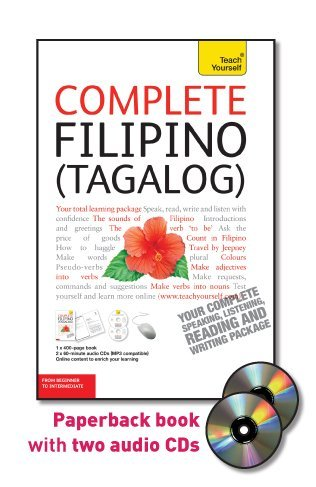 Teach Yourself Complete Filipino (Tagalog): From Beginner to Intermediate, Level 4 (Tagalog and English Edition)