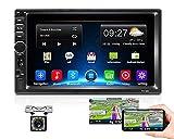Android Coche Radio 2 DIN GPS, Podofo Quad Core 2G+32G 1080P