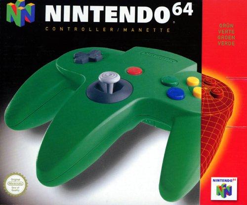 Nintendo 64 - Controller grün
