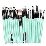Brocha de maquillaje Un conjunto de pinceles de maquillaje metálicos cosméticos base de maquillaje power shadow shadow blush kit de pinceles de maquillaje maquillaje algodón