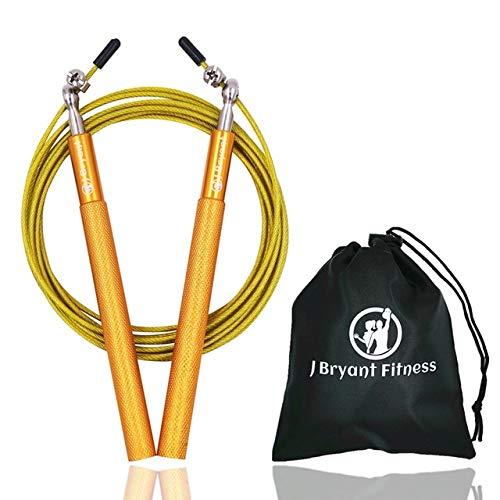 UQstyle Corde de saut de vitesse professionnelle technique corde de remise en forme pour adultes Sports de saut de vitesse, crossfit, boxe, maman, fitness, exercice, entraînement V