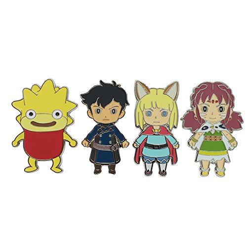 numskull Official Ni No Kuni II Character Magnet Four Pack Set