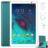 Tablet 10.1 Pulgadas 4G Android 10.0 Quad Core DUODUOGO G20 Tablet 4GB RAM 64GB ROM/128GB Escalables 8000mAh Doble SIM/Cámara Tablet PC Asistente de Voz de Google GMS Netfilx (Estándar, Verde)