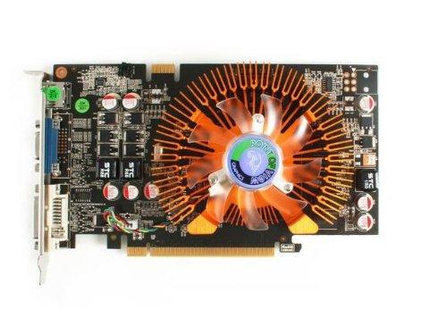 Point Of View nVidia GeForce 9800GT Grafikkarte (PCI-e, 1GB SDDR3 Speicher, 128bit)