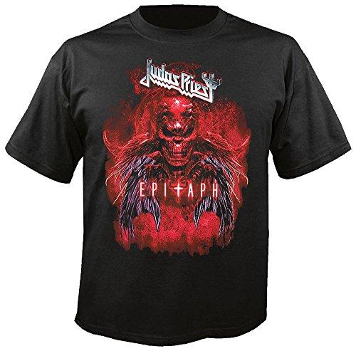 Shirtzshop - Camiseta, diseño de Judas Priest Negro M
