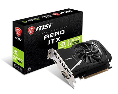 MSI GAMING GeForce GT 1030 2GB GDRR4 64-bit HDCP Support DirectX 12 ITX OC Graphics Card (GT 1030...