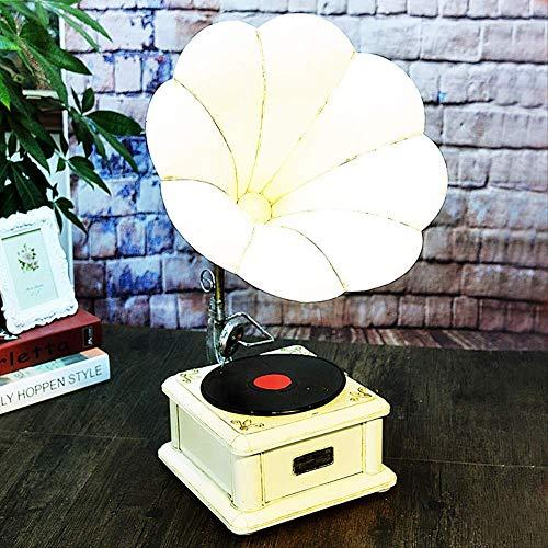 WZ YDTH handgemaakte decoratieve ornamenten retro platenspeler model decoratie huishoudtextiel metaal handwerk creatieve fotografie rekwisieten Cd-speler