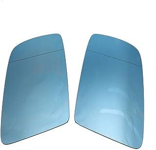 BiuZi Beheiztes Spiegelglas Car EIN Paar beheizte Außenspiegelglas Außenspiegelglas Passform for E60 E61 E63 03 10 51167065081 51167065082 E60 Spiegelglas