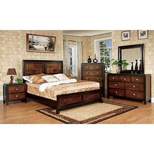 Contemporary Full Bedroom Furniture Sets: Amazon.com