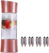 ILH Machine À Eau Gazeuse Portable pour Ajout Individuel D'acide Carbonique dans l'eau du Robinet avec 8 Bouteilles De CO2...