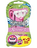 Wilkinson Xtreme 3Beauty Sensitive Rasoio Monouso X 4+ 2gratuiti