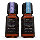 Bienat Aromaterapia Paquete 2 Aceites Esenciales Dulces Sueños (Dulces Sueños 1 y 2) 10mL