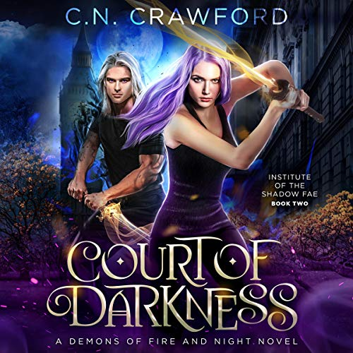 Page de couverture de Court of Darkness