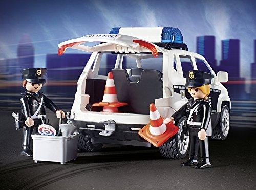 Poste de Police Playmobil 9372 Voiture Hélicoptère - 4
