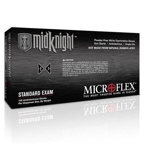 Microflex MidKnight MK-296-M (Size Medium) 100/per box New