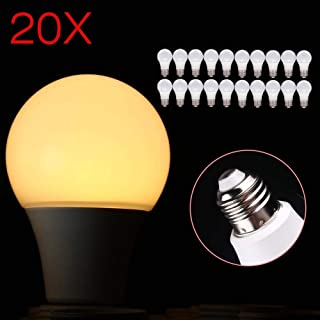 E27 9W B22 E27 LED SMD Globe Bulbs Bayonet Golf Ball Light Lamp Warm White
