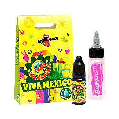 Big Mouth Aromakonzentrat All Loved Up - Viva Mexico, zum Mischen mit Basisliquid für e-Liquid, 0.0mg Nikotin, 10 ml