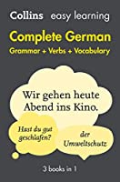 Complete German Grammar Verbs Vocabulary: 3 Books in 1 (Collins Easy Learning German)