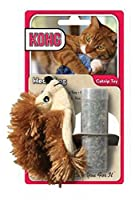 Kong Natural Quality Refillable Catnip Hedgehog Cat Fun Play Interactive Pet Toy