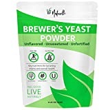 Brewers Yeast Powder - Organic Nutritional Yeast Powder & Active Yeast - Lactation Support &Lactation Supplement for Increased Breast Milk - Yeast for Bread & Yeast for Baking Lactation Cookies