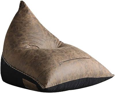NN 怠惰なソファ畳ビーンバッグソファ産業風クリエイティブシングルソファラウンジチェア、110×104×78センチ レジャーフロアチェア