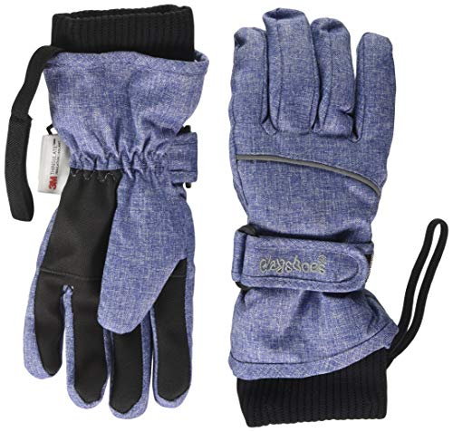 Playshoes Unisex Winter Finger Handschuhe, Skihandschuhe, Jeansblau, 3