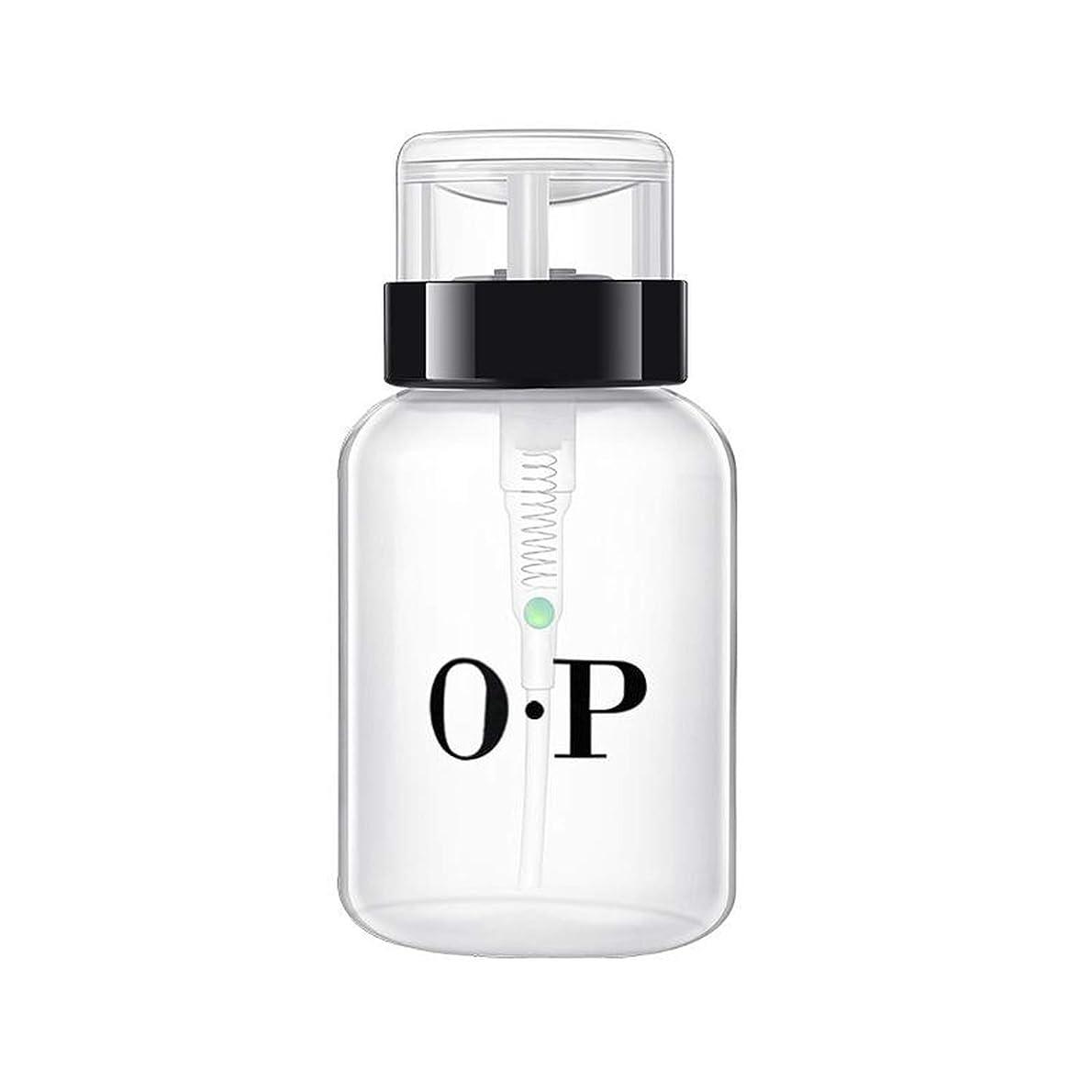 スポーツの試合を担当している人平和的バースト200ミリリットル空のアルコール液を押しネイルポリッシュリムーバーは、ディスペンサーは、化粧品容器の旅行ボトルをボトル200ML2ポンピング