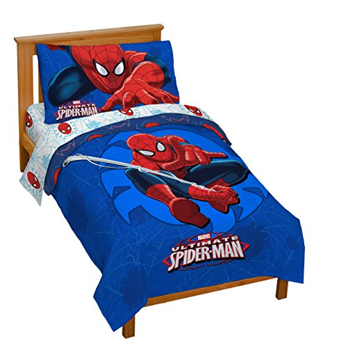 Top 10 spiderman toddler bed sets for boys for 2020